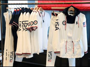 Ralph Lauren, which has been outfitting Team USA since 2008, worked with Dow on a cotton pretreatment dyeing process that uses less water, chemicals and energy than more traditional methods. The process was used for a navy Polo shirt each athlete will rece