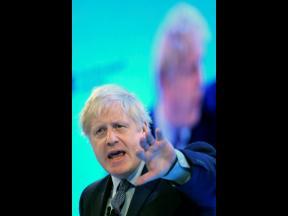 Britain's Prime Minister Boris Johnson.