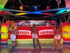 Dancers from Dance Xpressionz guided viewers through popular soca hits for Fame Frequency's Soca Nation Virtual Party.