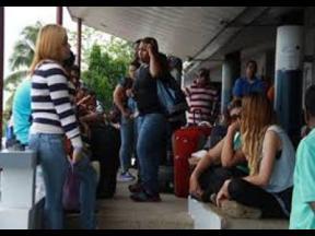 Venezuelan nationals seeking refugee status in Trinidad.
