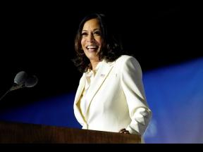 As Kamala Harris delivered her first speech as vice-president-elect last November, the poignance of the moment was translated not just through her words but through her outfit as well. The colour white has long been held as one which represents the fight f
