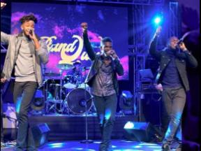 The 8 Band opened the show and took command of the stage.