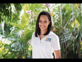 Executive director of the Jamaican Youth Empowerment through Culture, Arts and Nationalism Brittany Brown.
