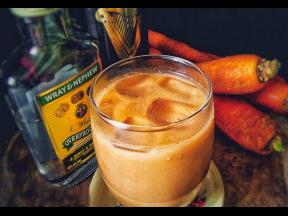 Carrot juice also known as 'strong back' was a Sunday staple in his household growing up.