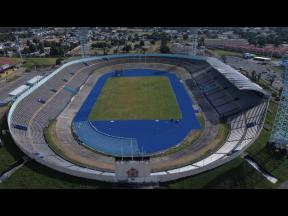 The National Stadium in Kingston, the venue for Jamaica's home fixtures in FIFA World Cup Qualifying.