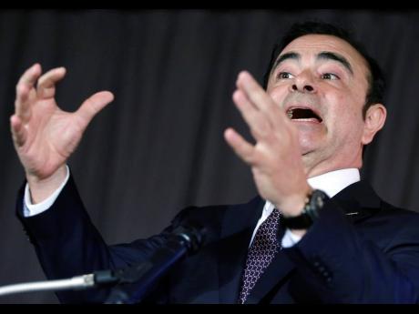 Former Nissan Motor Company chairman Carlos Ghosn.