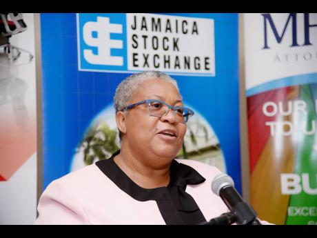 Marlene Street Forrest, managing director of the Jamaica Stock Exchange.