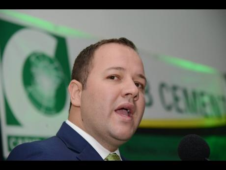 Peter Donkersloot Ponce, general manager of Caribbean Cement Company Limited.