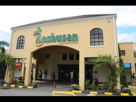 A Loshusan Supermarket owned by the grocery family is seen at Barbican in Kingston. The Loshusans are incorporating a supermarket in a new commercial complex to be developed in Mandeville, but the brand name is unknown.