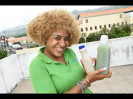Trish McFarlane creates over 30 flavours of her much delight natural juices.