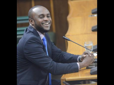 Lionel Myrie, PCJ director and former assistant to ex-Energy Minister Andrew Wheatley, appearing before the PAC last week.