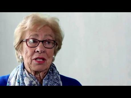 Holocaust survivor and author of 'Eva's Story,' Eva Schloss.