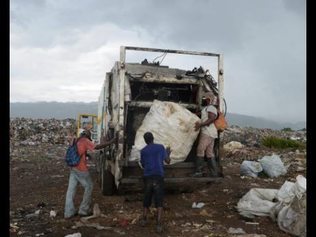 Activity at the Riverton City dump as captured in November 2015.