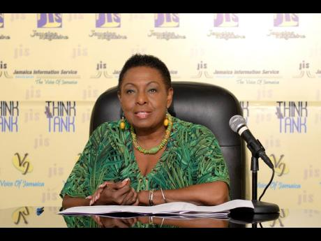 Minister of Culture, Gender, Enter­tainment and Sport Olivia Grange.