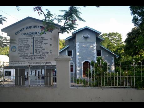 Grace Baptist Church, St Mary.