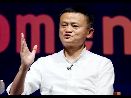AP  Chairman of Alibaba Group and China's richest man, Jack Ma.