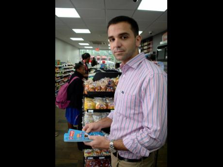 Joseph Mahfood, head of Circle K Jamaica.