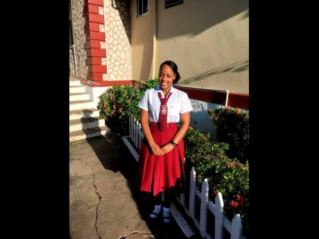 Glenmuir High School student Akalia Bailey.