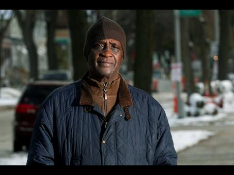 In this Thursday, November 14, 2019, photo, Jerome Dillard poses in Milwaukee. Dillard, a former inmate who is now the state director of Milwaukee-based advocacy group Ex-incarcerated People Organizing, supports ending prison gerrymandering.