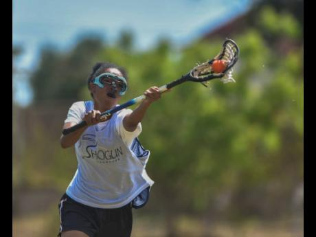 Johanna Silvera, one of the players on Jamaica's senior women's lacrosse team that made history in qualifying for the Women's Lacrosse World Cup in Maryland, USA in 2021.