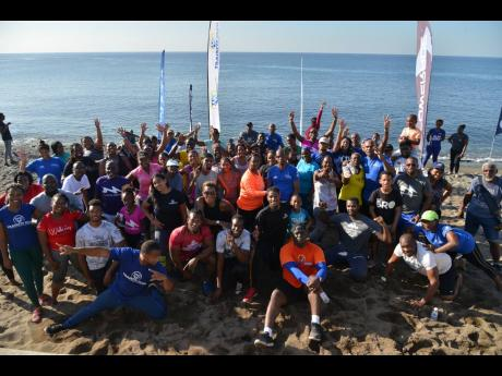 The Gleaner's Fit 4 Life Season 3's 'Fit in 5' tenth event with TrainFit Wellness Club at Little Copa Beach, Bull Bay, St Andrew on Saturday, November 23, 2019.