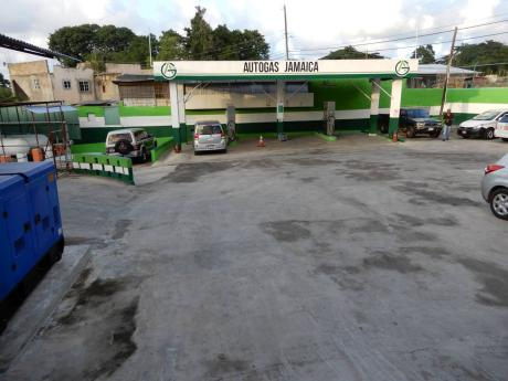 The Autogas Jamaica Limited complex in St Ann.