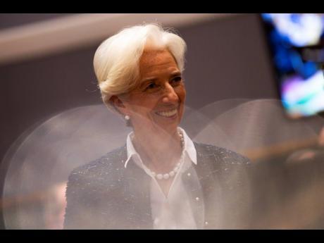 New President of European Central Bank Christine Lagarde.