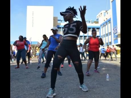 The Gleaner's Fit 4 Life Season 3's 'Fit in 5' Grand Finale at The Gleaner, 7 North Street, Kingston on Saturday, December 7, 2019.