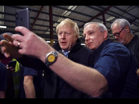 Britain's Prime Minister, Boris Johnson.