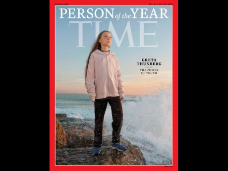 This photo provided by Time magazine shows Greta Thunberg, who has been named Time's youngest 'Person of the Year' on Wednesday yesterday. The media franchise said Wednesday on its website that Thunberg is being honored for work that transcends backgrounds and borders.