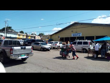 The Charles Gordon Market in Montego Bay, St James.