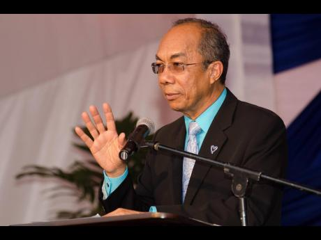 Member of Parliament Dr Horace Chang.