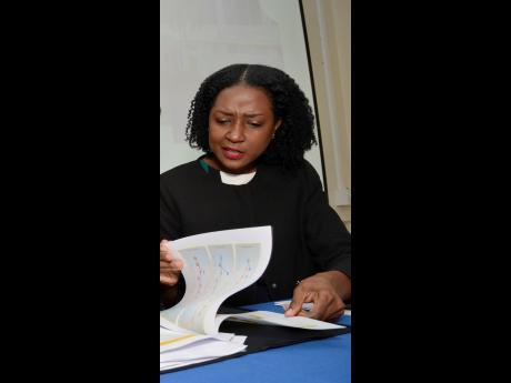 Statin director of surveys Natalee Simpson.