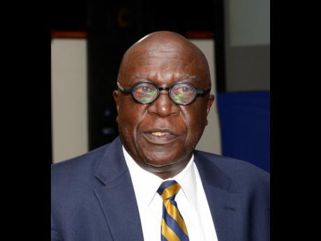 File  John Robinson, senior deputy governor, Bank of Jamaica.