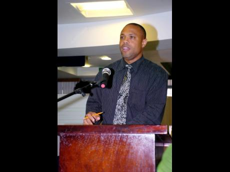 Norris Rainford, operations manager at the National Housing Trust's Westmoreland and Hanover offices.