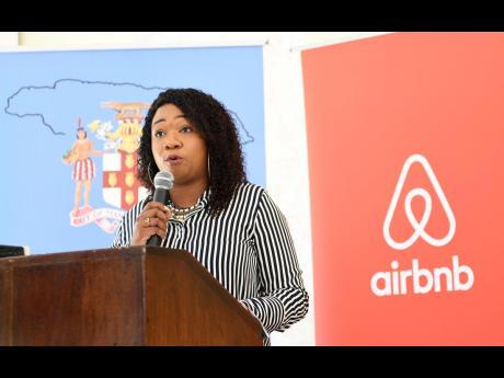 Sherie-Ann Anderson, president of the Jamaica Homesharing Association.