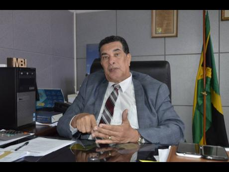 Homer Davis, mayor of Montego Bay and chairman of the St James Municipal Corporation.