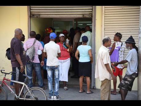 Ian Allen/Photographer  Several elderly persons who are most vulnerable to the impact of COVID-19 say they can't afford to stay home, in keeping with orders from Prime Minister Andrew Holness last week, as they have no one to purchase must needed supplies and medication.