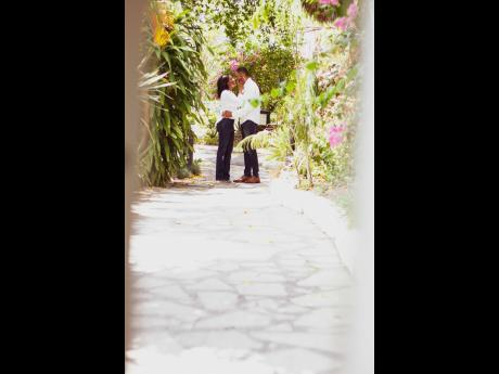 Matthew McFarlane and Tomeika Flemmings tying the knot on April 17 at The Jamaica Pegasus hotel. They couple were determined to not have the pandemic thwart their plans of saying their vows.