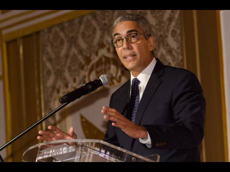 File Richard Byles, governor of the Bank of Jamaica.
