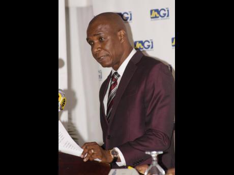 President of the Jamaica Used Car Dealers Association, Lynvalle Hamilton.