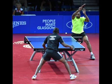 Kane Watson (right) in action during the 2014 Commonwealth Games in Glasgow, Scotland.