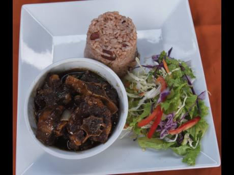 The oxtail is among the favourites on the menu at M10 Bar and Grill.