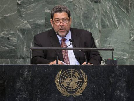 Dr Ralph Gonsalves, prime minister of St Vincent and the Grenadines.