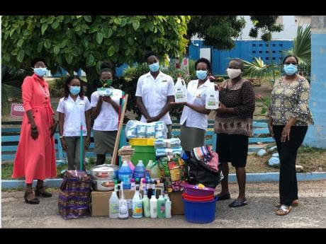University of Technology (UTech), Jamaica students and lecturers associated with the UTech, Jamaica Pharmaceutical Technology Students' Association (UT-PTSA) on June 19 handed over well-needed items to The Jamaica National Children's Home to assist the