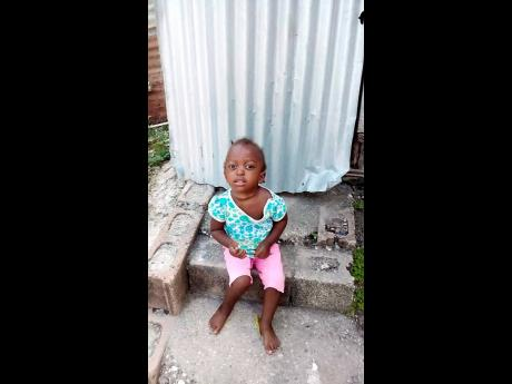 Shanika McDonald, the five-year old who was killed in a freak accident in Montego Bay.