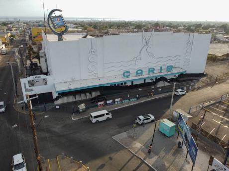 The Palace Carib 5 cinema in Cross Roads, Kingston.
