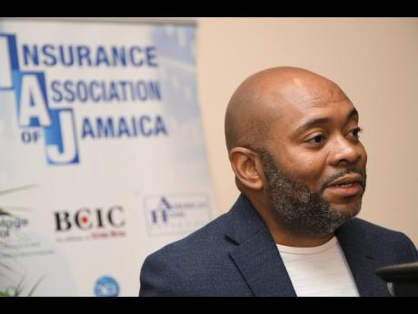 President of the Insurance Association of Jamaica, Vernon James.