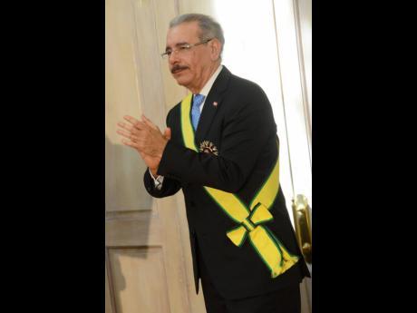President of Dominican Republic, Danilo Medina.
