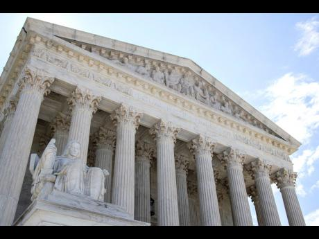 The US Supreme Court is seen Tuesday, June 30, 2020 in Washington.